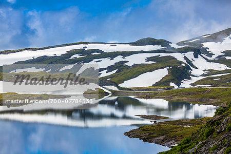 Skjelingavatnet near Vik, Sogn og Fjordane, Norway