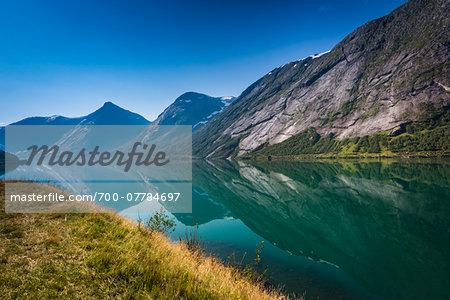 Sognesand, Kjosnes Fjord, Sogn og Fjordane, Norway