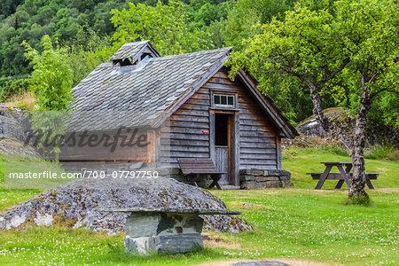 Hardanger Folk Museum, Utne, Hordaland, Norway