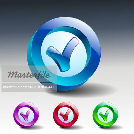Vector Tick Icon yes icon check checkmark ok