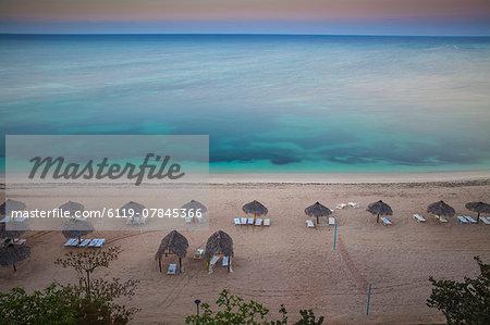 Ancon Beach at dawn, Trinidad, Sancti Spiritus Province, Cuba, West Indies, Caribbean, Central America