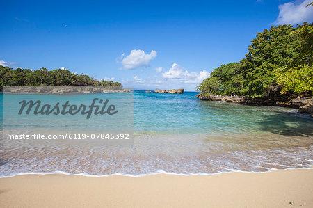 Playa Caleton, Rio San Juan, Dominican Republic, West Indies, Caribbean, Central America