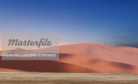 Giant sand dunes, Sossusvlei National Park, Namibia