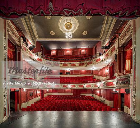 Europe, United Kingom, England, Lincolnshire, Lincoln, Lincoln Theatre Royal