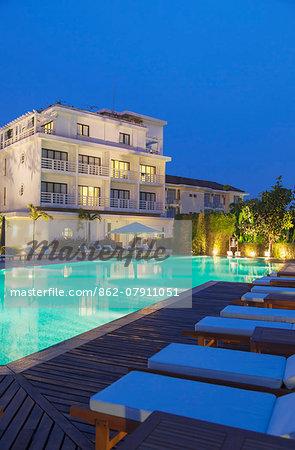 Swimming pool of La Residence Hotel, Hue, Thua Thien-Hue, Vietnam (PR)