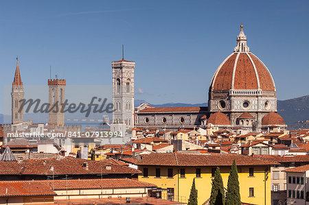 Basilica di Santa Maria del Fiore (Duomo), Florence, UNESCO World Heritage Site, Tuscany, Italy, Europe