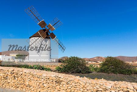Los Molinos Interpretive Centre for Windmills, Tiscamanita, Fuerteventura, Las Palmas, Canary Islands