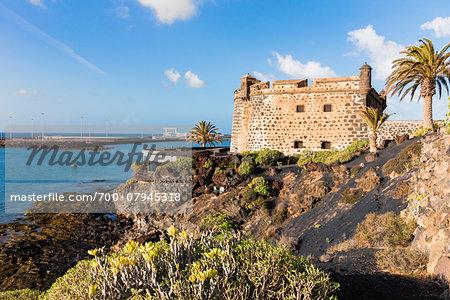 Castillo de San Jose accomodates the Museo Internacional de Arte Contemporaneo (Contemporary Art Musuem), Arrecife, Lanzarote, Las Palmas, Canary Islands