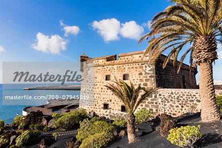 Castillo de San Jose accomodates the Museo Internacional de Arte Contemporaneo (Contemporary Art Museum), Arrecife, Lanzarote, Las Palmas, Canary Islands