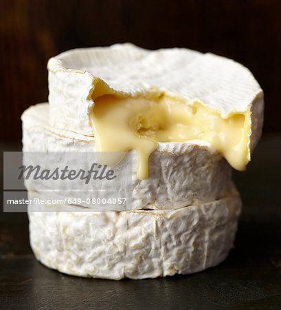 Ripe soft cheese