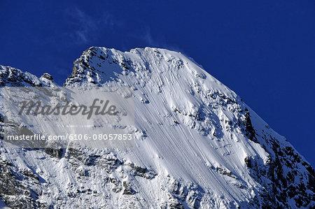 summit of Eiger, Grindelwald, Bernese Alps