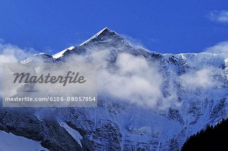 Fiescherhorn and Fiescherwand, Bernese Alps