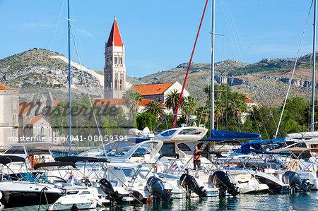 Stari Grad (Old Town), UNESCO World Heritage Site, Trogir, Dalmatia, Croatia, Europe