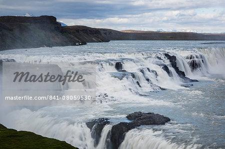 Gullfoss waterfall, Golden Circle, Iceland, Polar Regions
