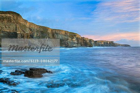 Dunraven Bay, Glamorgan Heritage Coast, Vale of Glamorgan, Wales, UK