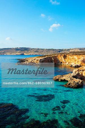 Mediterranean Europe, Malta, Comino island, Blue Lagoon