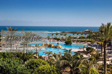 Pool, Hotel Sheraton, Caleta de Fuste, Fuerteventura, Canary Islands, Spain