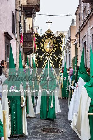 Easter procession, old town, Vegueta, Las Palmas, Gran Canaria, Canary Islands, Spain