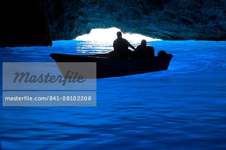 Blue cave (Galazio Spileo), Kastellorizo (Meis), Dodecanese, Greek Islands, Greece, Europe