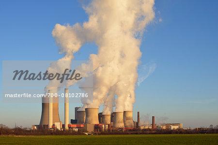 Coal Fired Power Station Niederaussem, Niederaussem, Bergheim District, North Rhine-Westphalia, Germany