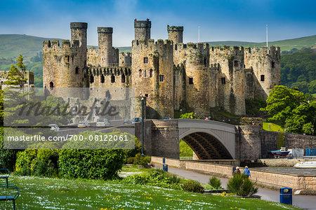 Conwy Castle, Conwy, Conwy County, Wales, United Kingdom