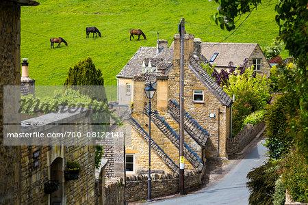 Naunton, Gloucestershire, The Cotswolds, England, United Kingdom