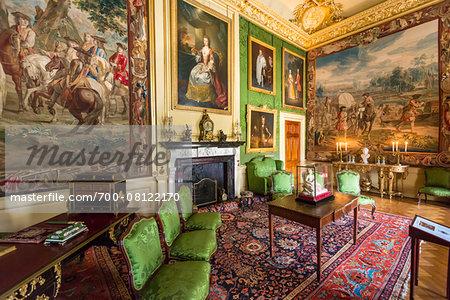 Green Drawing Room, Blenheim Palace, Woodstock, Oxfordshire, England, United Kingdom