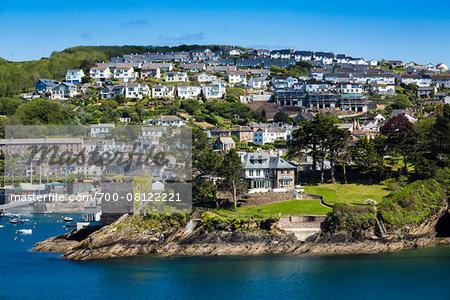Fowey, Cornwall, England, United Kingdom