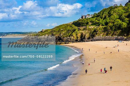 Porthminster Beach, St. Ives, Cornwall, England, United Kingdom
