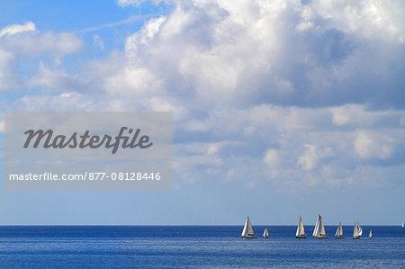 Spain, Canary islands. Fuerteventura. Regatta.