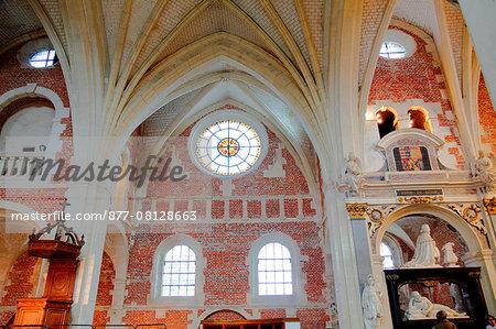 France, Haute Normandie, Seine Maritime (76), Eu, College of Jésuites chapel