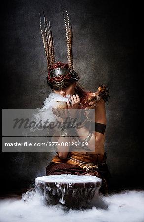 Tribal Woman: Invocation