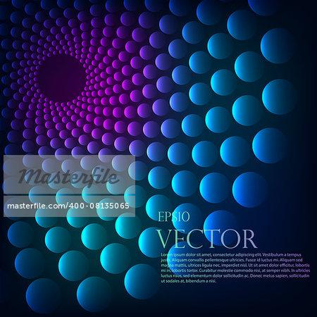 Rainbow vortex vector background eps 10 vector illustration