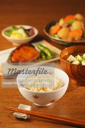 Japanese style set menu