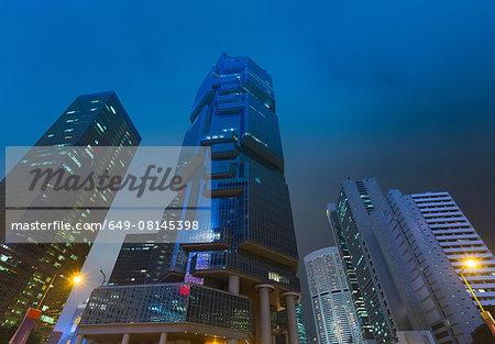 Central Hong Kong financial district, Hong Kong, China