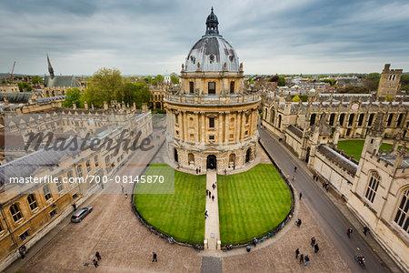 Radcliffe Camera, Oxford University, Oxford, Oxfordshire, England, United Kingdom
