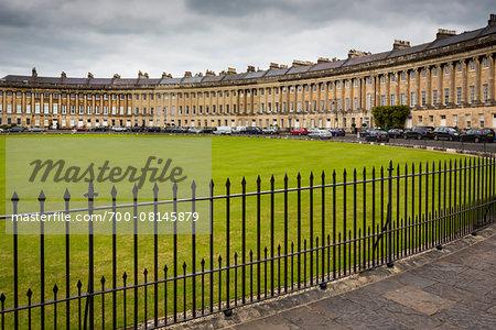 Royal Crescent, Bath, Somerset, England, United Kingdom