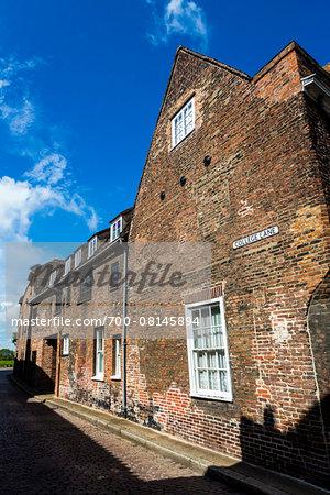Brick building, King's Lynn, Norfolk, England, United Kingdom