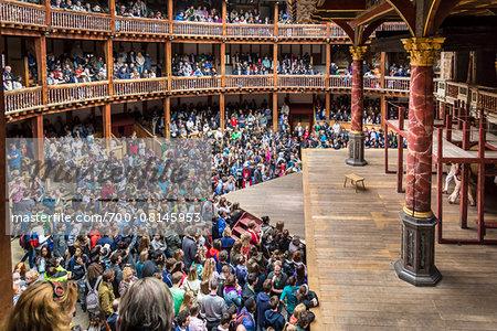 Shakespeare's Globe Theatre, London, England, United Kingdom