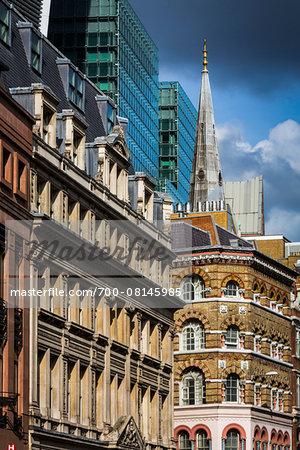 Cheapside City Of London London England United Kingdom Foto De