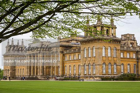 Blenheim Palace, Woodstock, Oxfordshire, England, United Kingdom