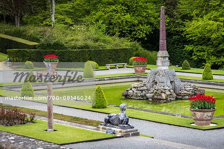 Gardens at Blenheim Palace, Woodstock, Oxfordshire, England, United Kingdom