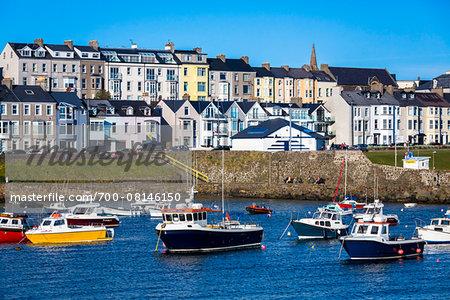 Boats in Harbour, Portrush, County Antrim, Northern Ireland, United Kingdom