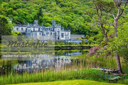 Kylemore Castle, Connemara, County Galway, Ireland