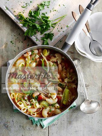 Ribollita (bean soup, Tuscany)