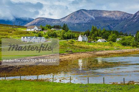 Scenic near Luib, Isle of Skye, Scotland, United Kingdom