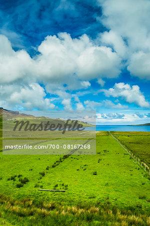 Staffin, Trotternish, Isle of Skye, Scotland, United Kingdom