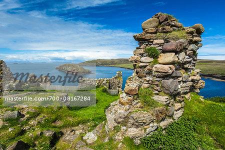 Duntulm Castle, Duntulm, Trotternish, Isle of Skye, Scotland, United Kingdom