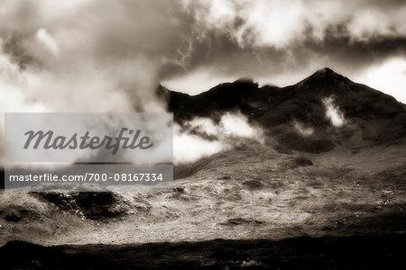 Near Sconser, Isle of Skye, Scottish Highlands, Scotland, United Kingdom
