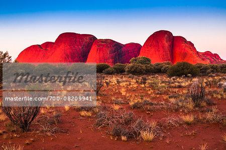 The Olgas (Kata Tjuta), Uluru-Kata Tjuta National Park, Northern Territory, Australia